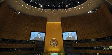 胡锦涛出席联合国气候变化峰会开幕式并发表讲话(图文)