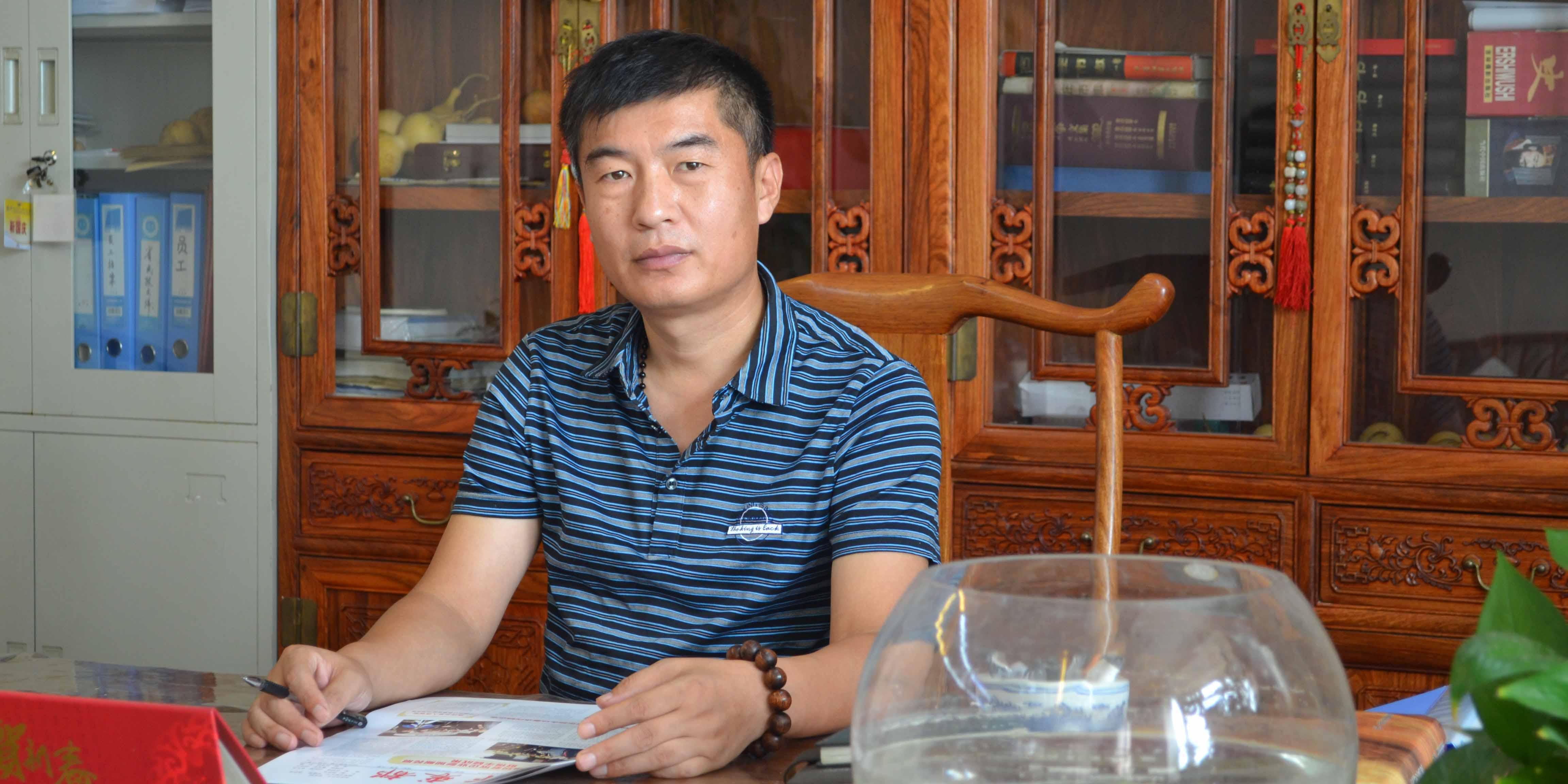 靳国庆 河北省毛皮产业协会执行会长、秘书长