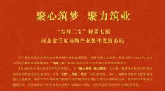 """关于举办""""吉祥三宝""""杯第七届河北省毛皮动物产业协作发展论坛的通知"""